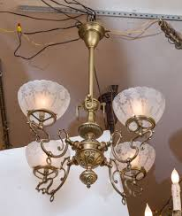 please take a careful look at the metal work on this wonderful late victorian chandelier