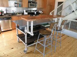 Portable Kitchen Island Kitchen Movable Portable Kitchen Island With White Wood Finish