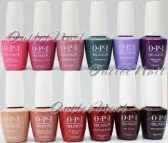 Opi Gel Nail Polish Colors Chart