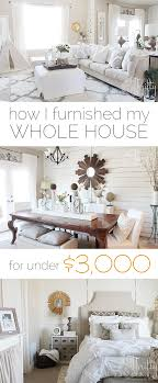 how i furnished my house for under 3000 house decorating and