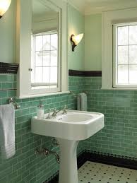 Retro Bathrooms Delectable Traditional Powder Room By Goforth Gill Architects Bathrooms