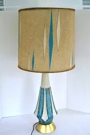 mid century lamp. Midcentury Lampshade Mid Century Lamp Shades Vintage Retro Swinging Mad Men Style Blue X . Modern