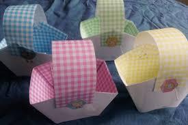 diy paper easter baskets making paper baskets