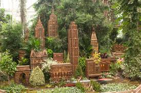 the botanical garden s holiday train show will put some jingle in your step
