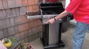 review kitchenaid 2 burner gas grill
