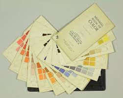 Munsell Color Chart Test Munsell Color Charts Science History Institute