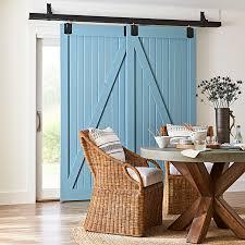 sliding barn doors glass. Interior Sliding Barn-style Doors With A Traditional Glass Exterior Doors. Barn