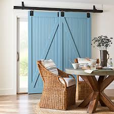 cover sliding patio doors with sliding barn doors