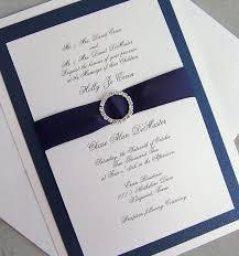108 best handmade wedding invitations images on pinterest White And Blue Wedding Invitations elegant wedding invitation, rhinestone wedding invitation, navy, ivory, silver wedding invitation, royal blue and white wedding invitations