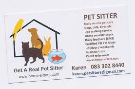 Pet Sitter Business Cards Free Pet Sitting Business Card Templates 25 New Dog Walking Business