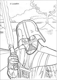 Small Picture Darth Vader Coloring Sheet Coloring printables for kids