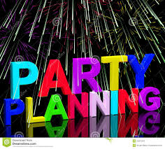 Party Planning Party Planning Words Showing Birthday Or Anniversary Celebration