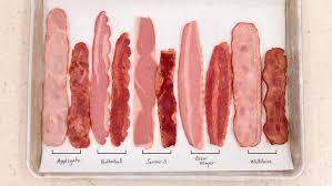 Bacon Cooking Chart Tasting Turkey Bacon