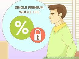 image titled single premium life insurance step 5