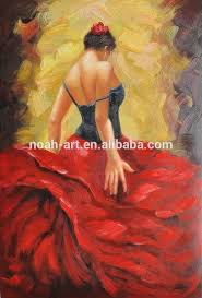 hot ing spanish dancer oil paintings to copy