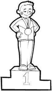 Olympics Coloring Pages Gold Medal Coloring Pages For The Summer