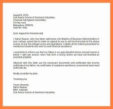 6+ financial aid appeal letter sample   appointmentletters.info college appeal letter sample 2016 simpleinvoice.top
