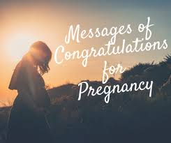 pregnancy congratulations messages wishes and poems for cards