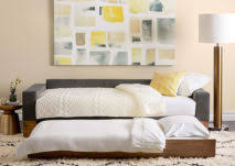 transforming furniture for small spaces. springhill suites and west elm launch new line of stylish doubleduty furniture for small spaces transforming t