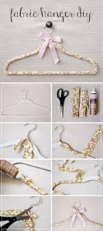 lovely diy fabric hangers 601cf4c5f8784dd1eca89a7c7193f9bb