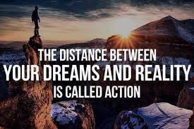 Dreams And Reality Quotes Best Of The Distance Between Dreams And Reality Is Action Ben Francia