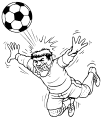 Small Picture Soccer Coloring Pages Free Printables Momjunction Coloring