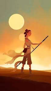 rey from star wars force awakens wallpaper
