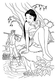 S Dessin Dessin A Colorier De Pocahontas Gratuitll L