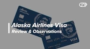 Alaska Airlines Visa Signature Card Reviews Good Airline Rewards Card