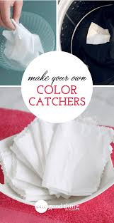 How To Make Your Own Laundry Color Catchers One Good Thing By Jillee