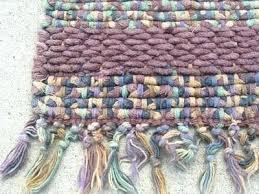 next woven rag rug runners vintage hand chenille