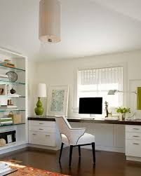 home office white. Perfect Office OfficeElegant Home Office With White Desk And Chair Also  Shelves Elegant Inside S