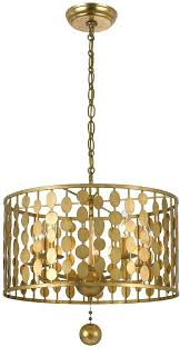 crystorama lighting chandeliers clover collection crystorama