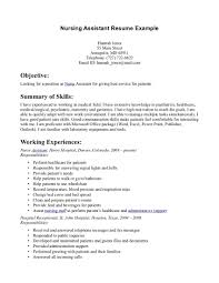 Cna Resumes Examples Free Resume Example And Writing Download