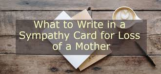 finding words for the loss of a mother