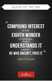 Stock Quotes Simple Quote Of The Day Compound Interest Is The Eighth Wonder Of The