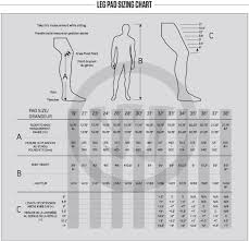 Goalie Pad Sizing Chart By Height Hockeyshop Forster Goalie Sizing Charts