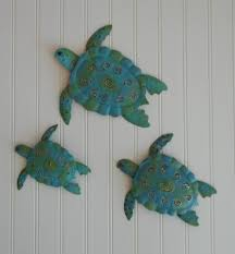 3pc metal sea turtle wall decor larger image on large metal sea turtle wall art with 3pc metal sea turtle wall decor ph s599 24 99 the pottery