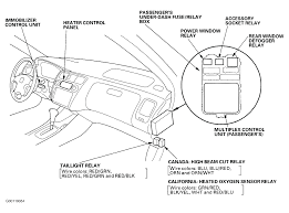 2002 honda civic under dash fuse box diagram how to fix in a accord with engine
