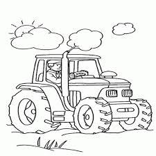 S Lection De Dessins De Coloriage Tracteur Imprimer Sur Tout Au
