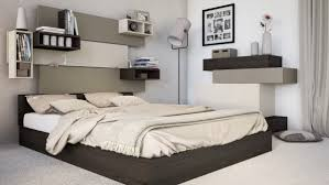 Bedroom:Simple Small Bedroom For Couple With Wall Shelves Ideas Options for  modern bedroom ideas