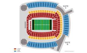 Steeler Game Seating Chart Pittsburgh Steelers Home Schedule 2019 Seating Chart