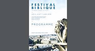 Festival Biblique La Bible Dans La Cité Paris école Biblique