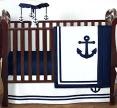 navy blue crib bedding sets sweet navy blue nautical boat anchor baby boy crib bedding set