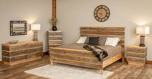 modern wood bedroom furniture. Modern Barn Wood Bed Contemporary Rustic Mountain Bedroom Furniture O