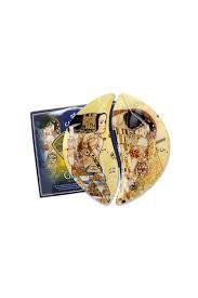 Купить <b>Набор тарелок Ожидание/Поцелуй</b> (<b>Г</b>. Климт) за 1510 руб.