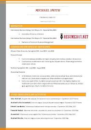 Hybrid Resume Examples Hybrid Resume Format Hybrid Resume Examples