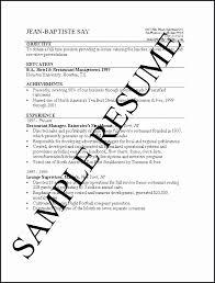 Resume Simple Format Extraordinary Sample Simple Resume Pdf Fresh Impressive Ideas Simple Resume Format