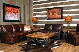 Living Room Lamp Sets Leather Chairs Elegant Design Of Leather Chairs Lamp Set Modern