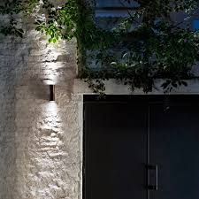 flos clessidra led outdoor wall lighting
